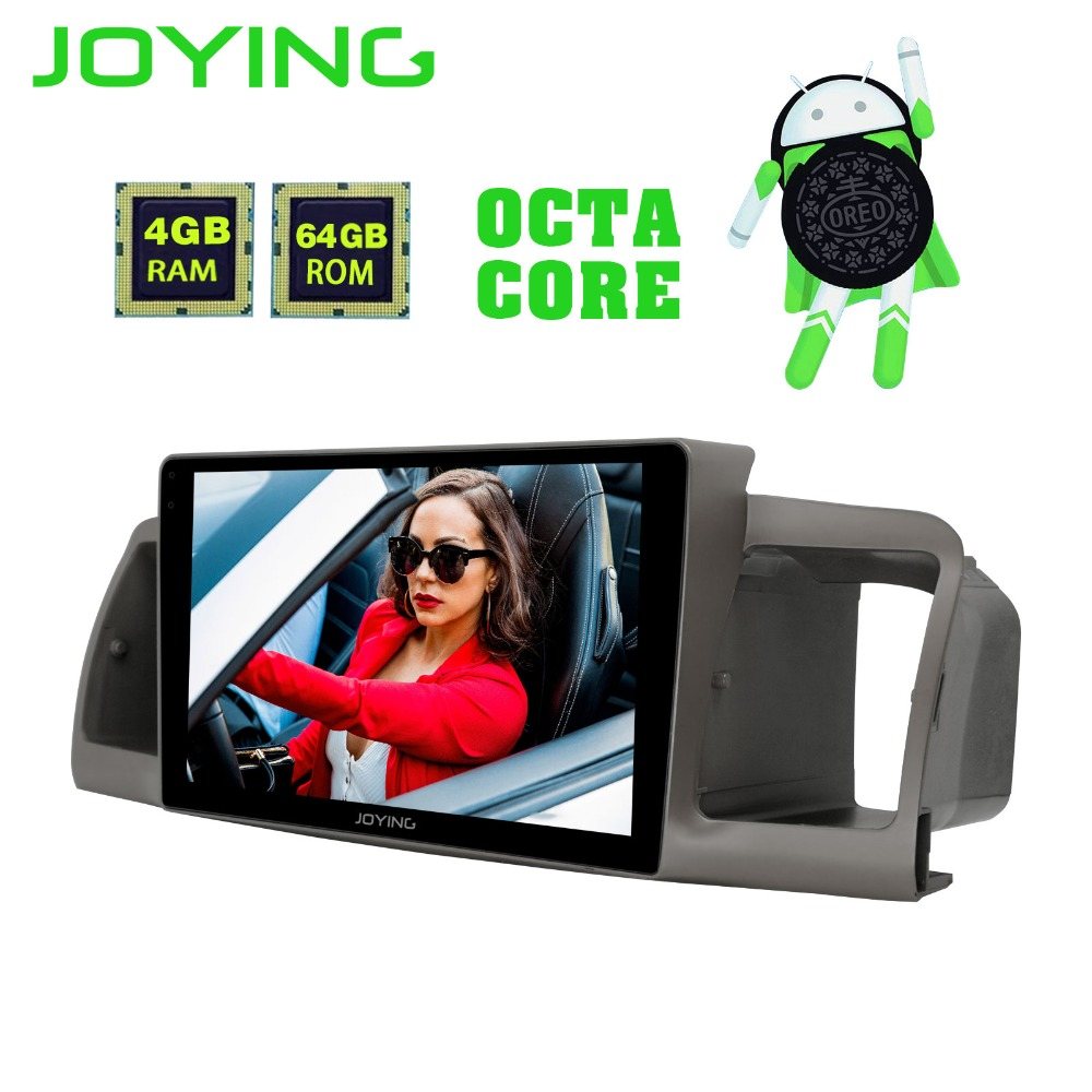 9JOYING GPS Navigation Android Car Radio Stereo For Toyota Corolla EX/E120 2003 2011 Head Unit Multimedia Player Support OBD2