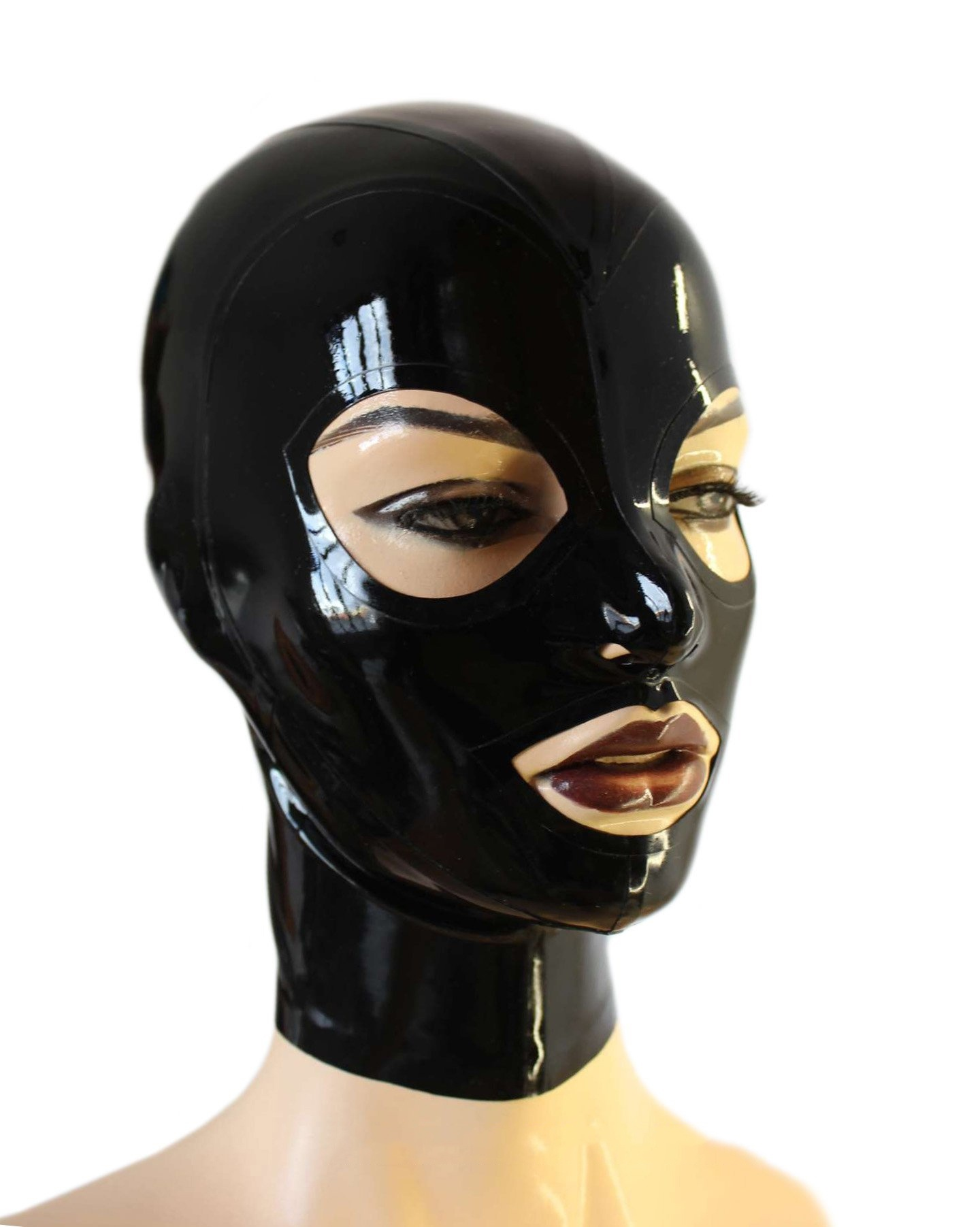 рука купить латексную маску на голову наконец