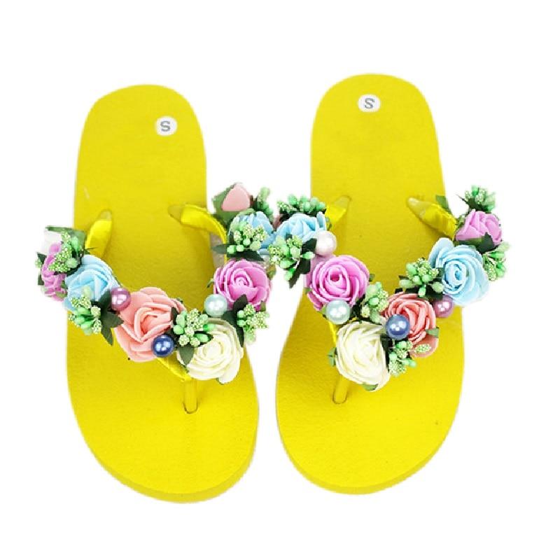 Flip Flops Qadın Səndəlləri 2017 Yeni Moda Üslubunda Qadın - Qadın ayaqqabıları - Fotoqrafiya 5