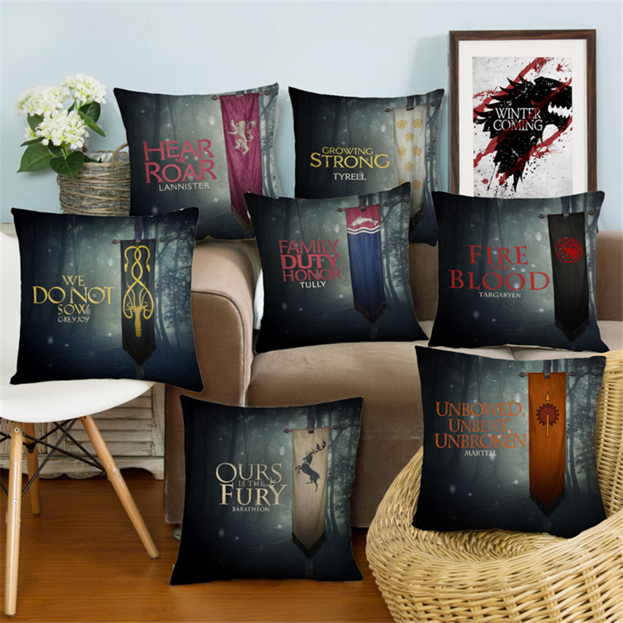 Us 3 99 9 Off Moderne Europa Plain Nordic Game Of Thrones Universal Mode Sofa Dekokissen Fall Kissenbezug Wohnkultur Samt Bettwäsche E823 In