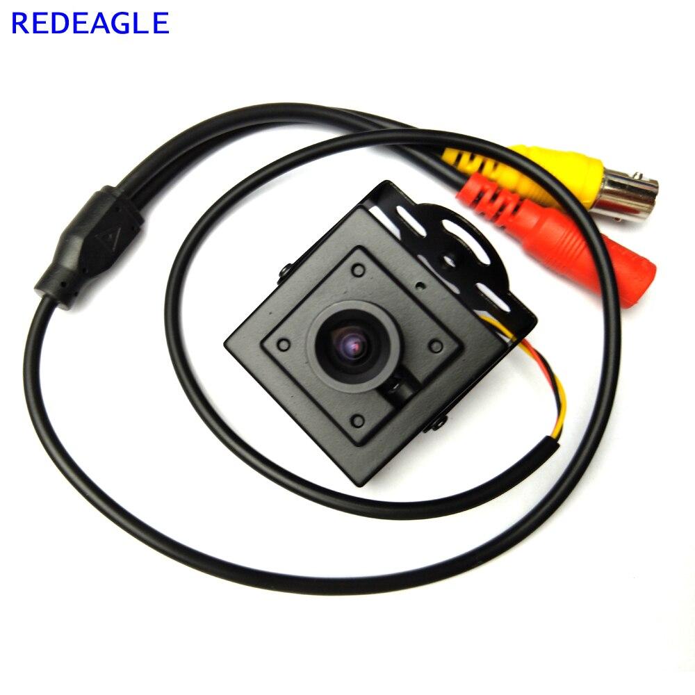 Image 3 - Redeagle 700tvl cmos prendido mini caixa cvbs cctv câmera de  segurança com corpo de metal 3.6mm 2.8mm 6mm lente opcionalCâmeras de  vigilância