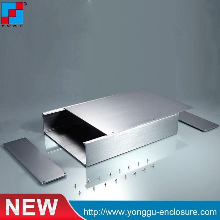 256*70.2*170 mm Oversized split aluminum housing and the housing / laser light aluminum housing body chassis body