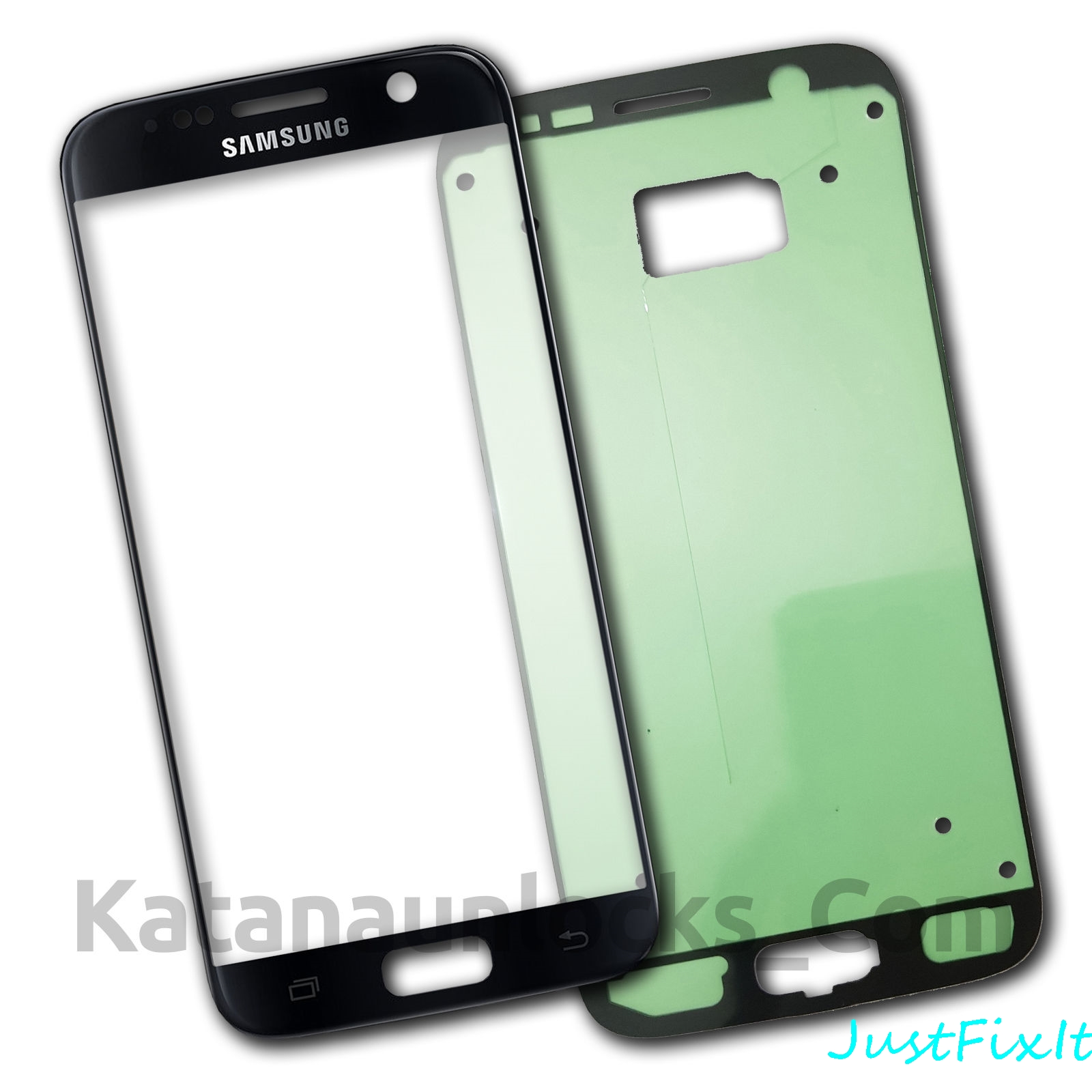 Front Outer Glass <font><b>Lens</b></font> Touch Screen Replacement for <font><b>Samsung</b></font> <font><b>Galaxy</b></font> <font><b>S7</b></font> G930 G930A G930F G930T lcd Repair Tools + Adhesive image