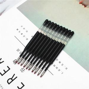 Image 4 - [4Y4A] 100 قطعة/الوحدة المعادن خرطوشة الحبر G2 عبوة القياسية حجم الكتابة الرصاص حجم 0.99 مللي متر القرطاسية اكسسوارات قطع غيار أقلام