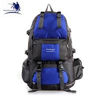 50L Outdoor Climbing Hiking Backpacks Waterproof Camping Backpack Sport Large Travel Bags Men Women 15 Colors WX010