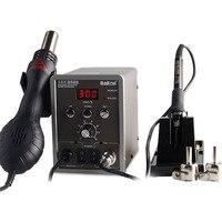 8586 2in1 soldering station digital LED Rework Soldering Station Thermoregulator Soldering Iron Hot Air Desoldering Gun Welding