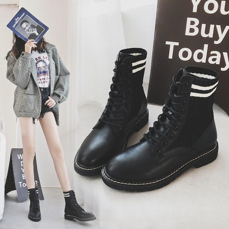 Winter Neige Buty Mycoron Plus black Mode Bottes warm Chaud Marque Hiver Velours Damskie Femmes 2018 Orteil Ronde Chaussures Feminina BwqAaS
