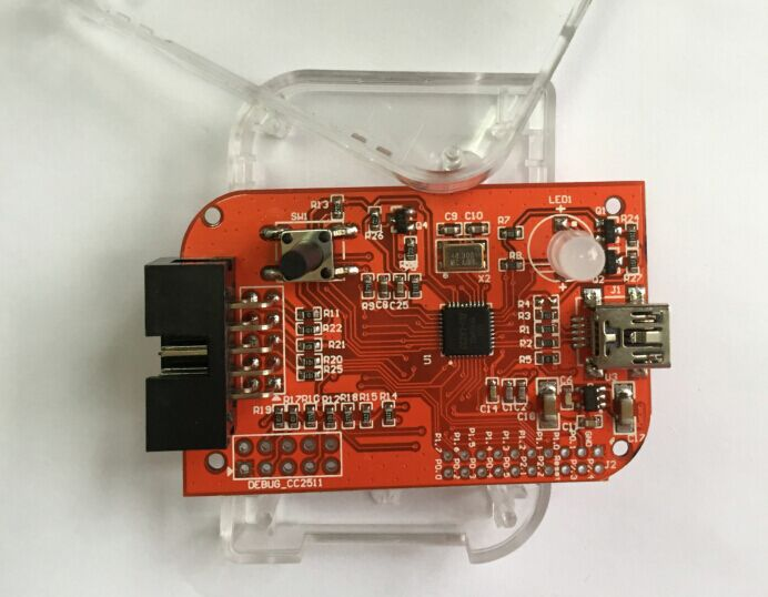 Bluetooth Emulator CC-Debugger Support 2540/2541/2530 Protocol zigbee module emulator cc2430 cc2531 cc2530 cc debugger programmer