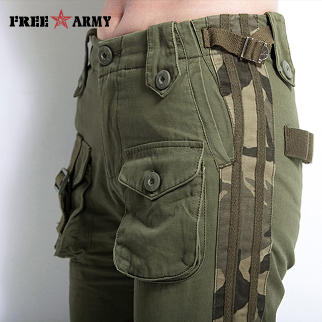 Large Size Cargo Pants Women Winter Military Clothing Tactical Pants Multi-Pocket Cotton Joggers Sweatpants Army Green Trousers 8