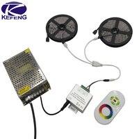 15m10m 5050 RGB LED strip 60 leds/mกันน้ำไฟledที่มีความยืดหยุ่นริบบิ้นไดโอดled