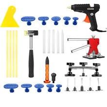 PDR Paintless Dent Repair Kit Красный Дент Lifter Мост комплект Молот дент Удаления