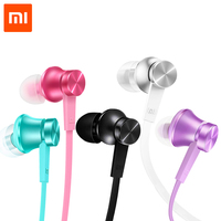 2016 Newest 100 Original Xiaomi Mi Earphones Piston 3 Basic Version In Ear With Mic Wire
