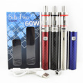 New arrive electronic cigarette Sub two S60B kit airflow control atomizer 2.5ML 60W 2200mAh Battery M22 Atomizer E Cigarette