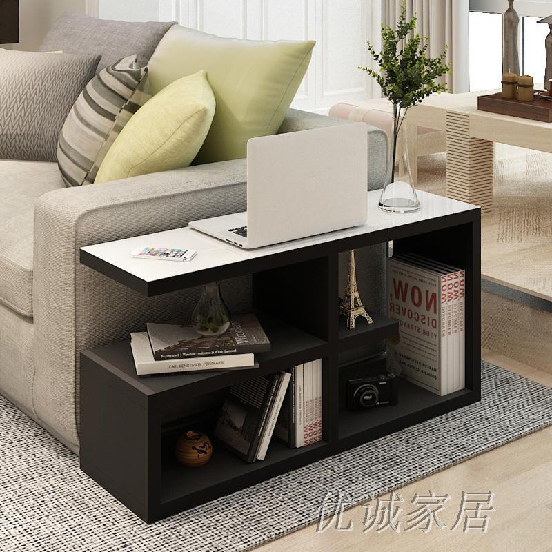 Gewoon Mobiele kast salontafel sofa kant een paar hoek kasten ...