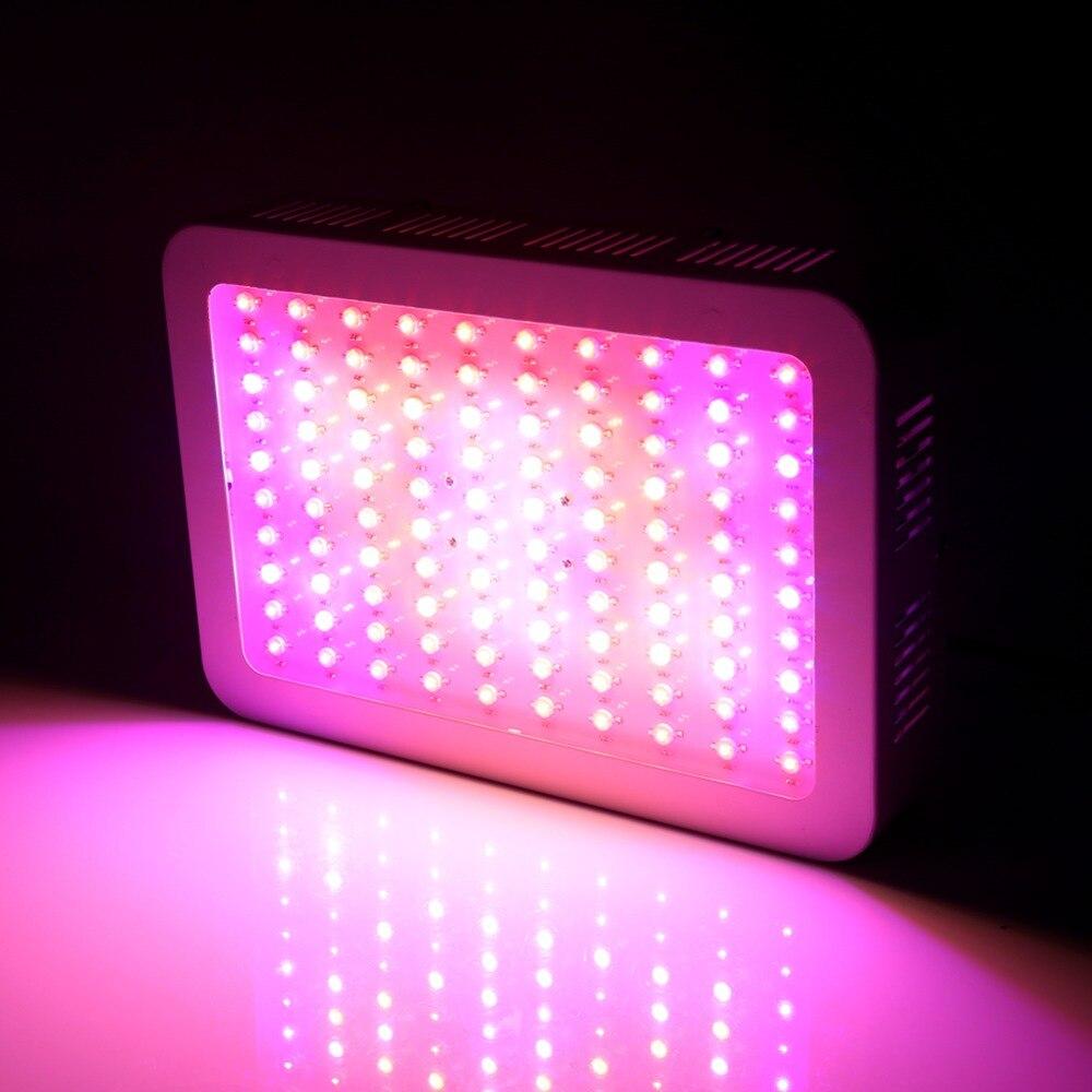 1000W 100 LEDs Plant Grow Light AC 85-265V Full Spectrum Plant Grow Light Bulb Hydroponics Vegs Flowering Panel Lamp