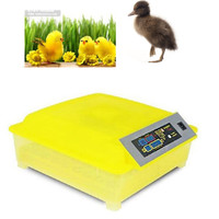 Automatic 48 Eggs Incubator Poultry Hatcher Egg Tester Chicken Birds Quail Incubator