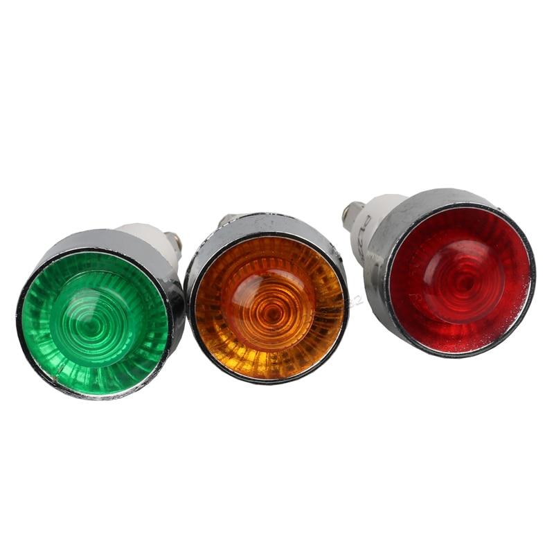 Warning Indicator Lights: Signal Lamp Indicator Light Green Red Orange 24VDC 220VAC