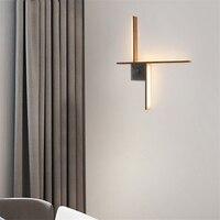 Япония Стиль настенный светильник квадратном деревянном Jade дизайнер модель номер Гостиная Спальня проход ресторан железа настенные свети