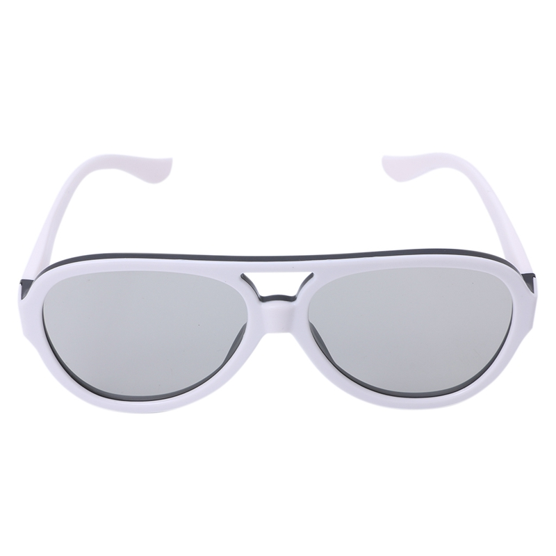 Circular Passive Polarized Universal 3D Glasses  For TV Real 3D Cinema 0.42mm
