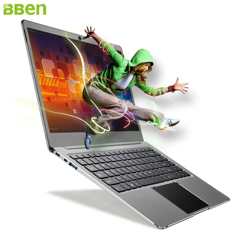 Bben N14W Laptop 14.1 Inch Win10 DDR3 4GBRAM+64G EMMC Quad-Cores Intel Apollo Lake N3450 USB3.0 Type-C Notebook Laptop