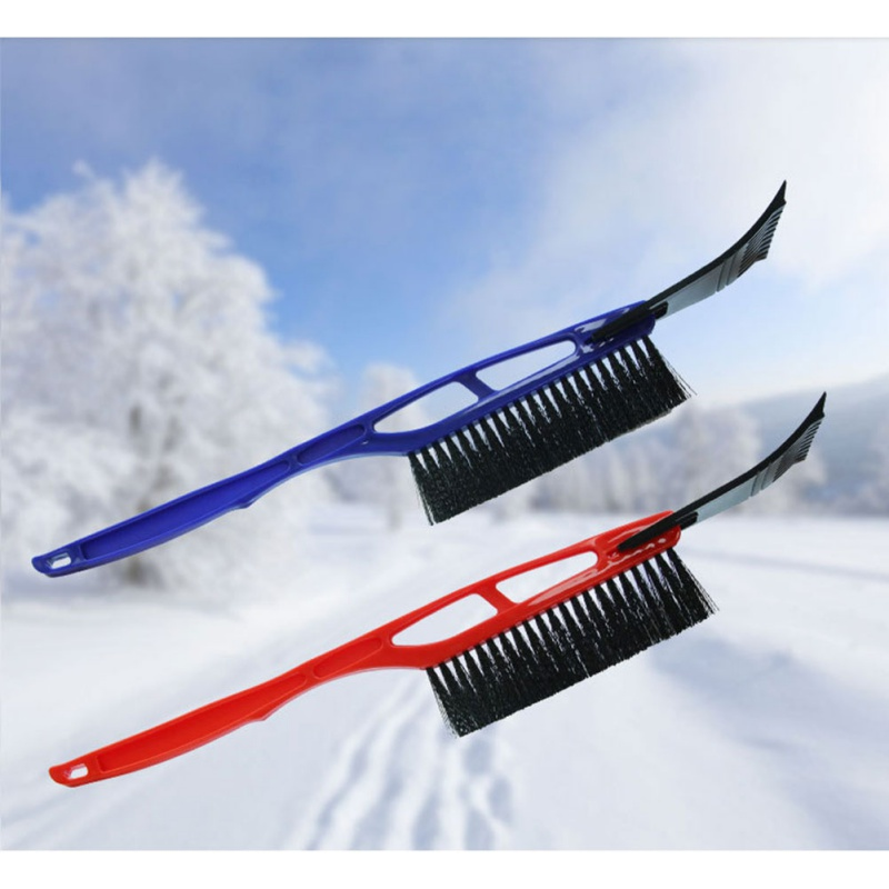 Car Winter Snow Shovel With Eva Handle two-in-one Ice Sweeping Snow Removal Brush Good Helper Auto Ice Scraper
