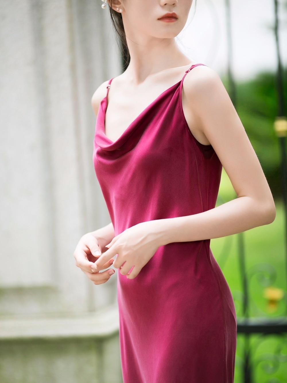 Rouge Chinoiserie Tout D'été Soie De Femmes allumette Originale Lynette's Lâche Robes Conception POw7Oxd