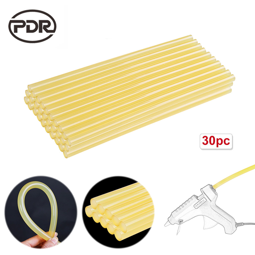 30× Car Body PDR Tools Glue Sticks 7MM*100MM Dent Repair Paintless Hail Removal