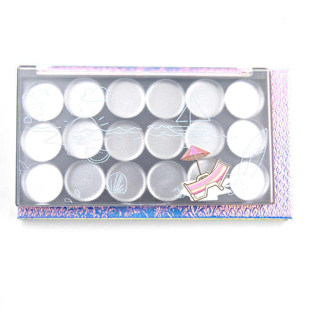 1PC Professional Refill eye shadow palette Empty Magnetic eyeshadow lipsitck palette DIY Makeup Storage Private holiday cosmetic