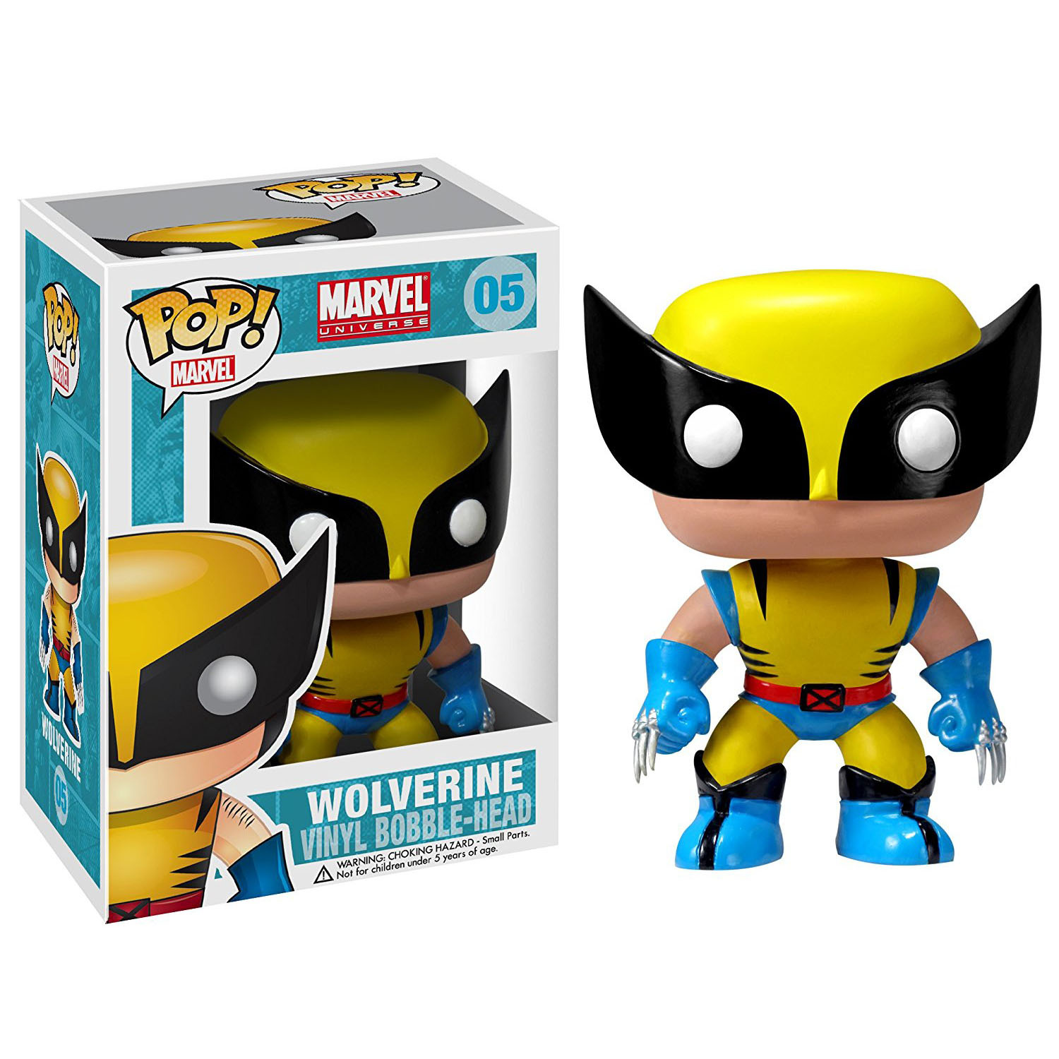 Chanycore Funko Pop Marvel Avenger 05# Wolverine X-men LOGAN Anime Hot Movie Vinyl Action Figure Toys PVC Doll Kids Toys  official funko pop marvel x men logan wolverine vinyl action figure collectible model toy with original box