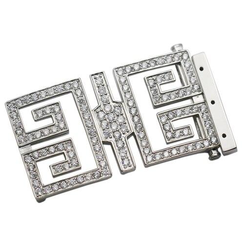 Beadsnice argent Sterling Rectangle fermoir Multi brin collier connecteur femmes collier accessoires bricolage cadeau ID35302