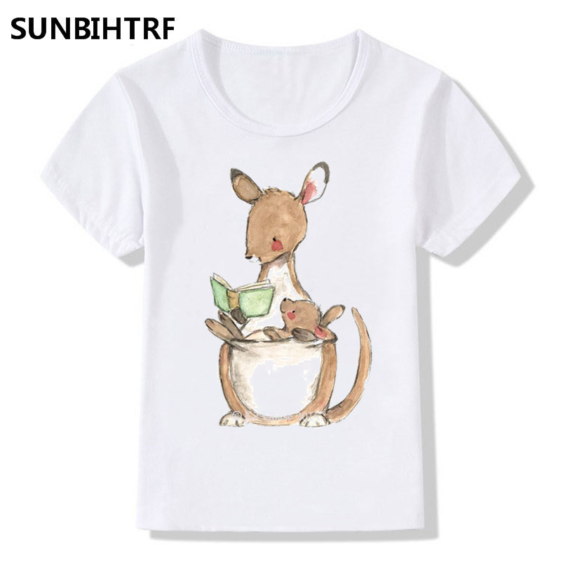 Kangaroo Kid/'s T-Shirt Children Boys Girls Unisex Top Cartoon