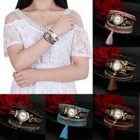 2016 новое поступление duoya бренд Для женщин часы браслет Наручные часы девушка часы aug9