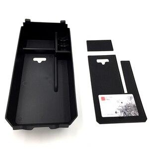 Image 3 - Cardimanson車オーガナイザー用メルセデスベンツc glcクラスw205 x253 2015 +中央アームレスト収納ボックスコンテナトレイ車スタイリング