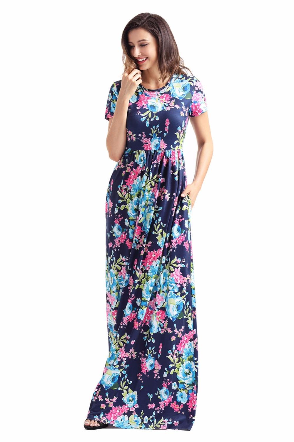 Popular Bright Maxi Dress-Buy Cheap Bright Maxi Dress lots from ...