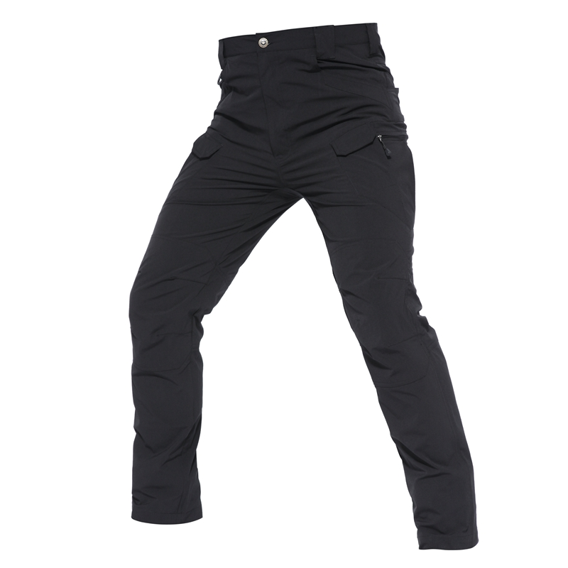 Shanghai Story IX7 tactical mens pants Elastic casual Pants Combat SWAT Army active Military work Waterproof male Trousers mens