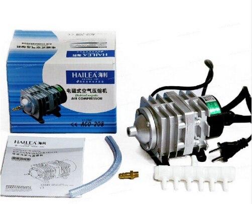 oxygen Home & Garden 45l/min 25w Hailea Aco208 Aco-208 Electrical Magnetic Air Compressor Pump With 6 Way Air Divider Aquarium Fish Tank Fish & Aquatic Supplies