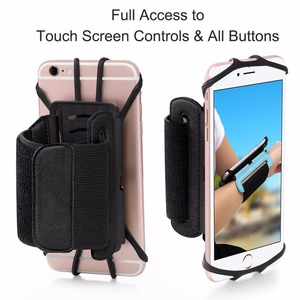"""Image 5 - 100% Wristband Phone Case Holder 180 Rotatable for Running Cycling Gym Jogging Suitable For 3.5"""" 6"""" All Cell Phone"""