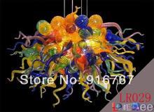 Big LR029-Free Shipping Handmade Murano Glass Ceiling Light