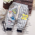 Осень мальчик свободного покроя полоска брюки, Малыш брюки, Дети брюки # Z1268