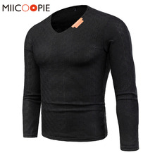 Spring Brand Mens Sweater Pullovers Simple Style Cotton Knitted V Neck Solid Sweater Jumpers Thin Male Knitwear Plus Size 6XL
