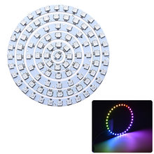 1 PC Addressable WS2812B Pixel Ring 1 8 12 16 24 32 LED WS2812 5050 RGB LED Ring 1- 32Bit Built-In RGB DC5V Terintegrasi Driver(China)