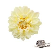 Gardenia Hair Flower Clip, pins , Wedding Rockabilly Headwear party girls Accessories