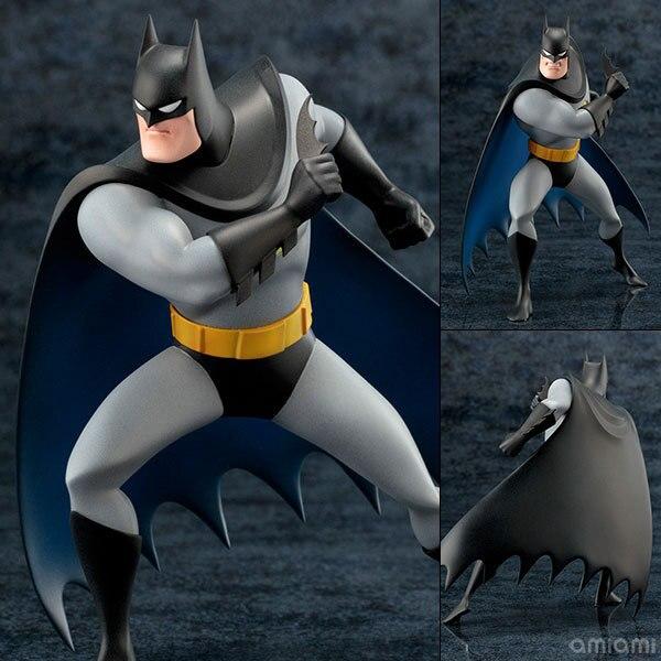 ARTFX STATUE 52 THE <font><b>Animated</b></font> <font><b>Series</b></font> <font><b>Batman</b></font> PVC <font><b>Action</b></font> <font><b>Figure</b></font> Collection Model Toy 18cm