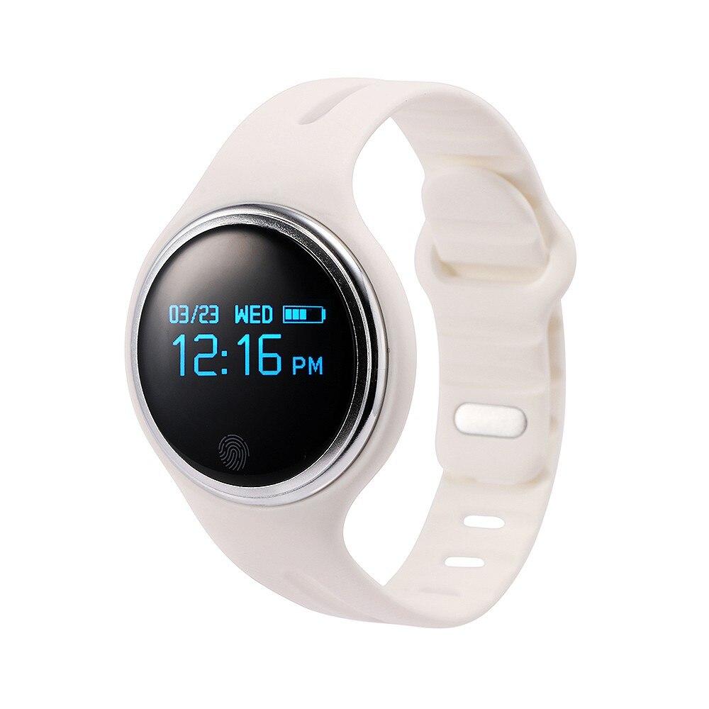 E07 font b smartwatch b font Waterproof Smart Wristband Passometer Fitness Tracker Bluetooth Sports Bracelet For