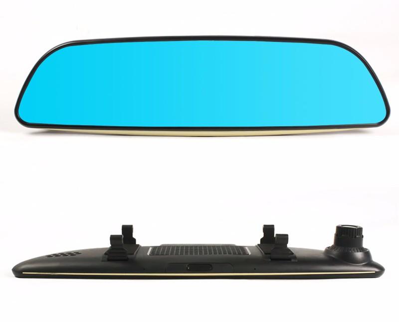 Free 32GB card+3G Car DVR+Android 5.0 Bluetooth GPS WIFI Dual lens rearview mirror camera+FHD1080P camara automovil Phisung H2 22