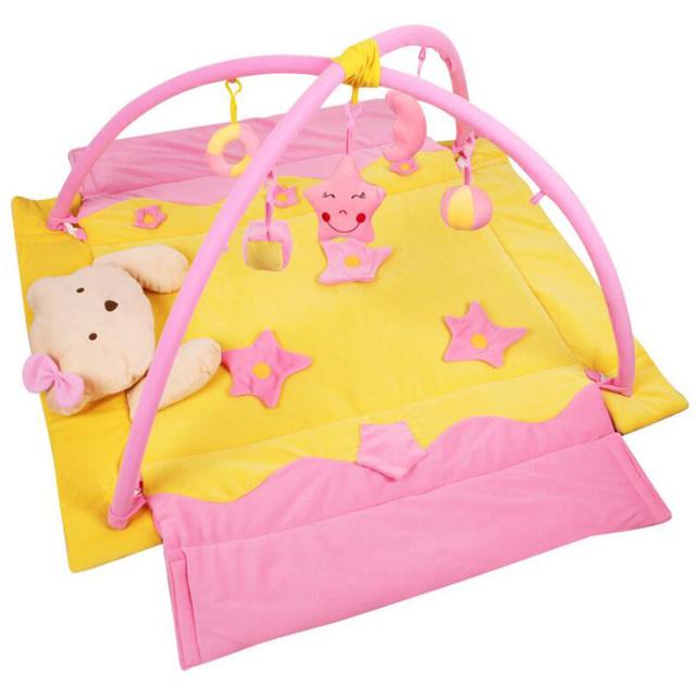 Crianças Brinquedos para o bebê jogar mat tapete Musical Rosa Qualidade Premium garoto Jogar mat PlayMat Super Seguro