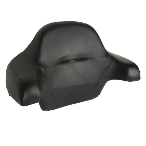 Wrap-around King Choppe Tour Pak Trunk Back Rest Pad Tail Box For Harley Touring Model Electra Street Glide Road FLT FLHTCU
