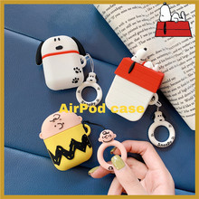 3D Cute Cartoon Charlie Earphone Case For Airpods 1/2 Case Cover with Finger Ring Straps Soft Silicone Funda Protection Cover 1000w pure sine wave inverter solar system 24v 220v car power inverter generator dc to ac converter off grid 12v 48v to 120 240v