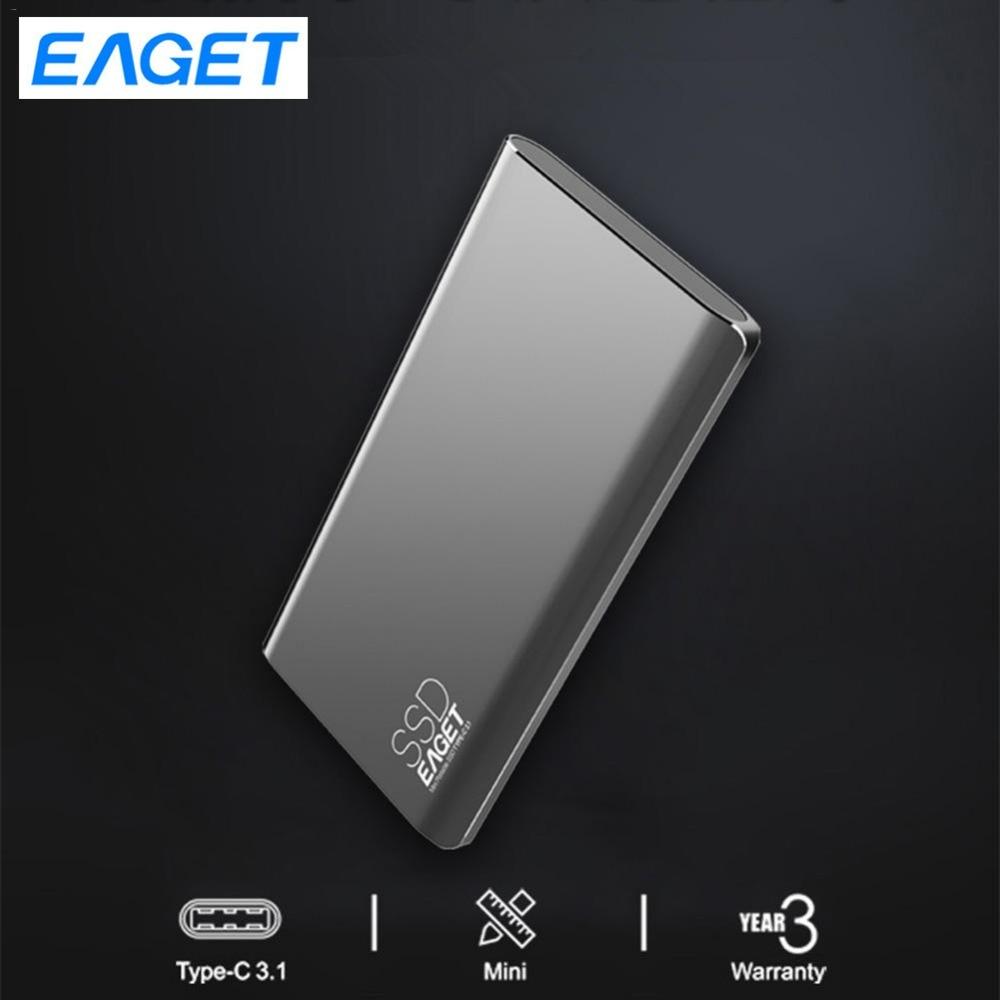 Disque SSD externe Eaget 512 GB 1.8