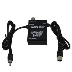 3 em 1 universal rf unidade adaptador cabo interruptor de jogo tv automática para super nintendo para nes para snes para sega genesis